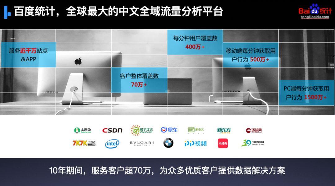我不要你觉得,我要我们都觉得 百度统计 全球最大的中文网站流量分析平台